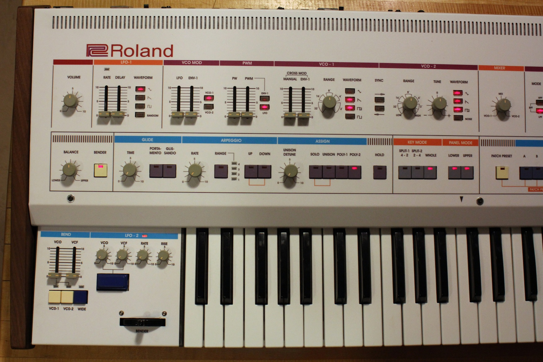 Fully Upgraded and Updated Roland Jupiter 6 Europa