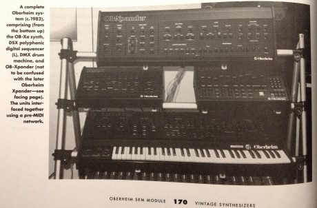 OB Xpander Vintage Synth book