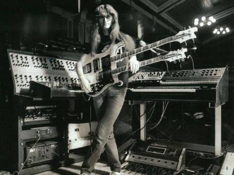 Rush Geddy Lee Synth Rig