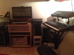New Alliance North! Synth studio!